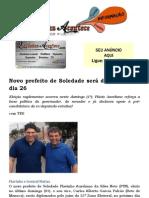 Novo prefeito de Soledade será diplomado no dia 26