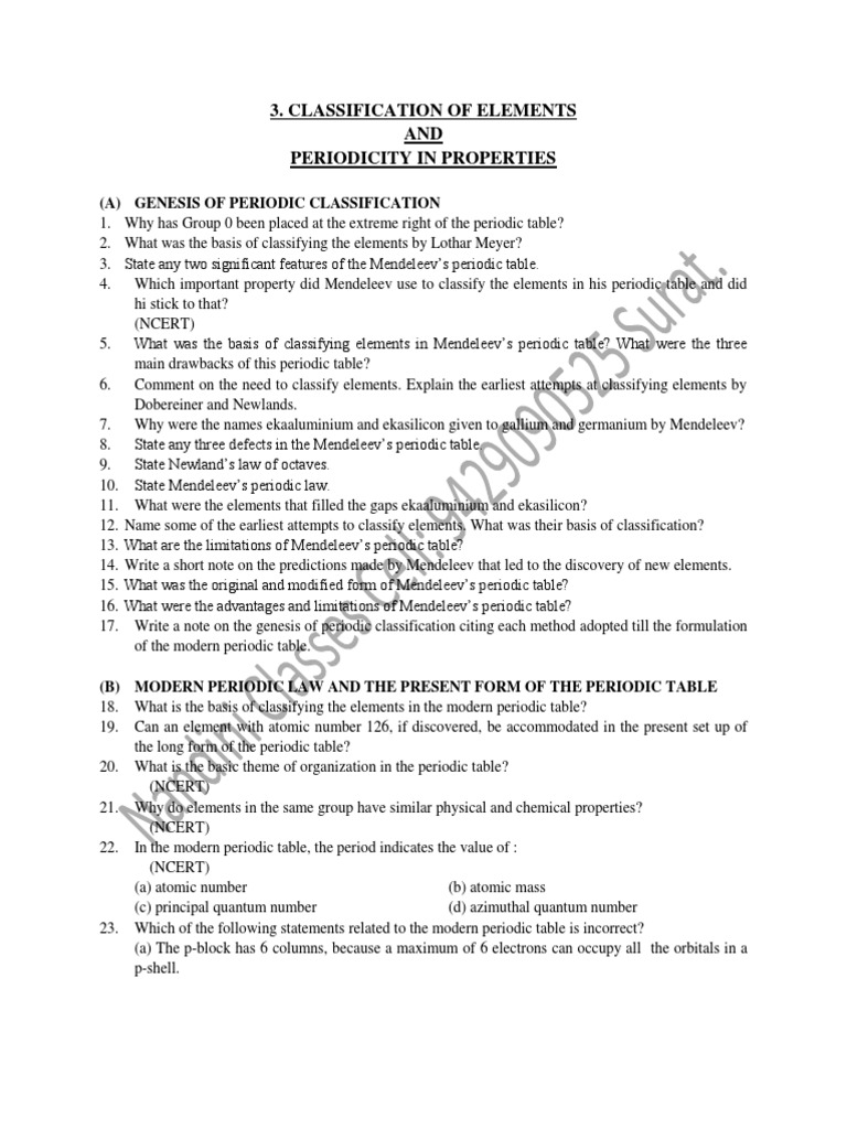 Worksheets Properties Of Atoms And The Periodic Table Worksheet Answers periodic table and periodicity of properties images atoms the worksheet answers image xi chem chapt3 of