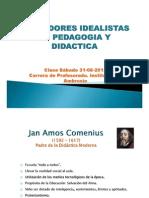 Pedagogia - Clase 31-08-2013 Idealismo Final
