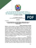 Ley de Extincion de La Accion Penal en Venezuela