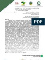 AVALIANDO O PRONAF A PARTIR DA ÓTICA DAS DESIGUALDADES INTER-REGIONAIS NA DISTRIBUIÇÃO DOS RECURSOS, 2005 A 2010