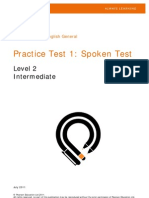 PTE General Spoken PracticeTest1 L21