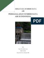 Permasalahan SDA Di Indonesia