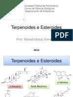 Aula 02 - Terpenoides e Esteroides