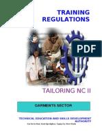 TR - Tailoring (Casual) NC II