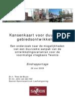Kansenkaart Duurzaamheid VTM Eindrapportage
