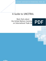 Guide to Uncitral