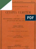 Vasile Pârvan, Cetatea Ulmetum, II, 1.