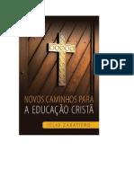 Novos Caminhos Para a Educação - Cristã Júlio Zabatiero (1)