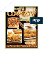 Classic Cowboy Recipes 27 Authentic Western Recipes
