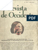 Revista de Occidente No 201 La Hora de Los Monstruos Imagenes de Lo Prohibido en El Arte Actual
