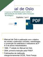 Manual de Oslo - cap  1 a 4