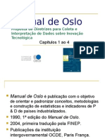 Manual de Oslo - cap  1 a 4
