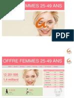 Femmes 25-49 ans