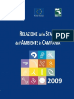 Relazione sullo Stato dell'Ambiente in Campania 2009