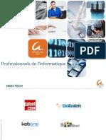 Professionnels de l'informatique
