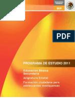 Formación ciudadana para adolescentes mexiquenses