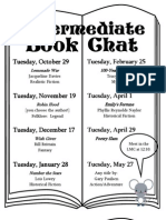 Book Chat Fliers 13-14