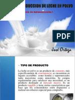 Produción de la leche en polvo