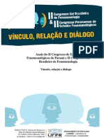 Anais II Congresso Sul Brasileiro de Fenomenologia 2011