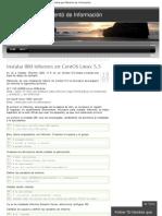 Instalar IBM Informix en CentOS Linux 5.5 _ El Hombre que Reventó de Informa