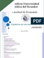Normas Harvard - APA Ejemplos (1)