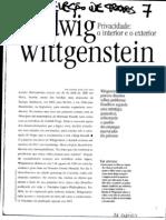 T7 Ludwing Wittgenstein Privacidade - o Interior e o Exterior