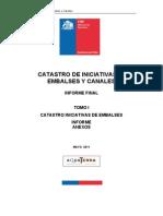 Catastro de Iniciativas de Embalses y Canales Informe Final1