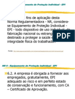 EPI s Dos Pes a Cabeca (1)