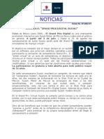 Boletín No. RP-0906-011 Suzuki Grand Prix