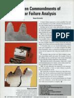 10 Commandments Gear Failure