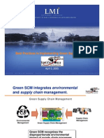 Best Practices in Green Supply Chain Management FINAL
