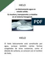 HIELO DIAPOSITIVAS
