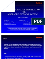 Wire Performance Specification for Aircraft Electrical Systems