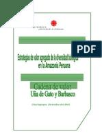 BIO2.1-C Cadena de Valor uña de gato-Caritas Chachapoyas