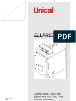 Instructiuni Instalare, Utilizare Si Service, Cazane Otel 2 Drumuri 'Unical_ellprex' (en)