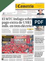 Declaraciones de la Ministra de Cultura del Perú