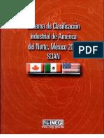Sistema de Clasificación Industrial de América del Norte SCIAN 2002