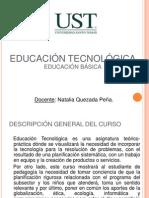 Programa Ed. Tecnologica