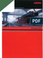 Marklin Catalogue 2010