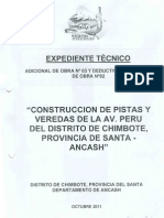 Medelo de Expediente Adicional y Deductivo