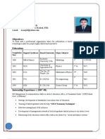 Complete CV (MBA)