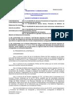 DECRETO SUPREMO Nº 038-2003-MTC