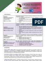 Folleto Seminario Nacional Educación Parvularia 05.10.13