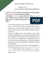 REFLEXÕES (6) NA PRIMEIRA CARTA DE JOÃO (2.12-17)