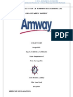 37778268 Amway Full Project