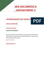 Plegaria Eucaristica Para Adolecentes 2