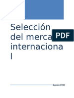 Seleccion de Mercado Internacional