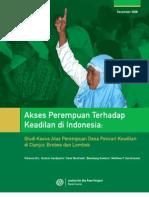 Akses Perempuan Terhadap Keadilan Di Indonesia