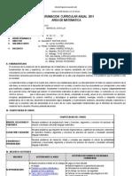 PROGRAMACION  CURRICULAR ANUAL  2011 4º GRADO.doc